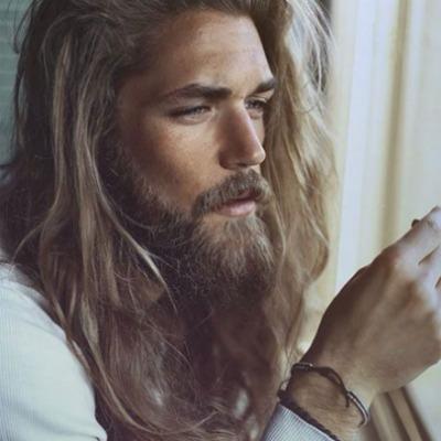 2 long-hair-beard-men-look