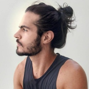 Man-bun-hairstyles