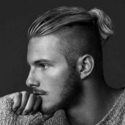short-ponytail-for-men-