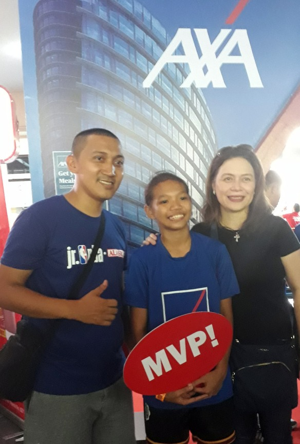 AXA helps young athlete pursue her dream_photo